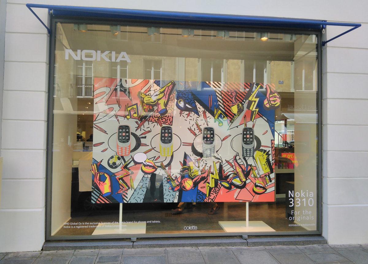 Architecture commerciale Nokia boutique Colette