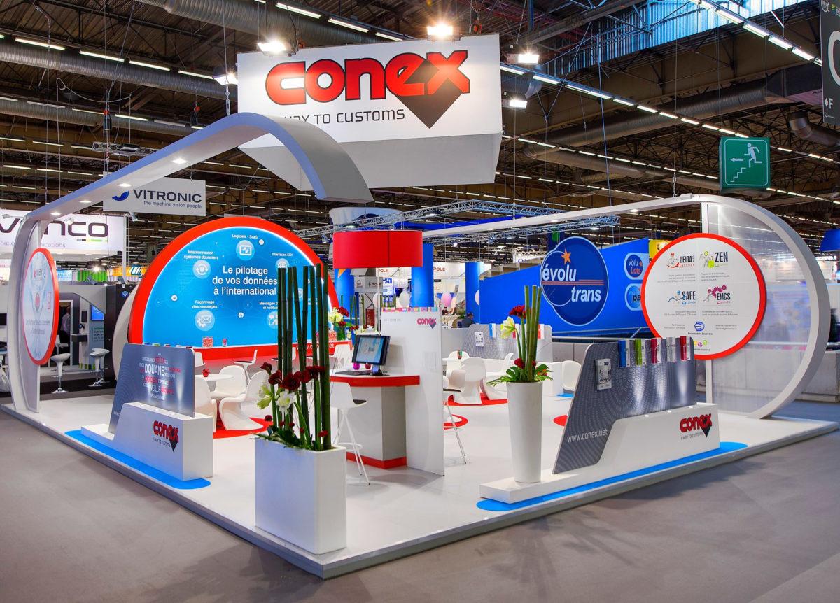 Stand sur mesure Conex