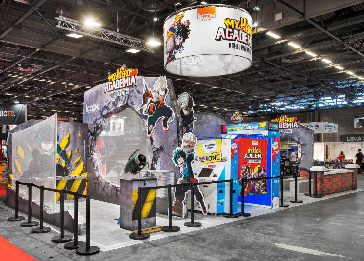 Stand sur mesure Ki-oon Japan Expo 2017