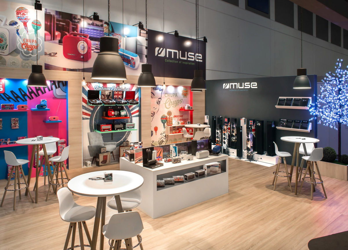 Stand sur mesure Muse Ifa 2017