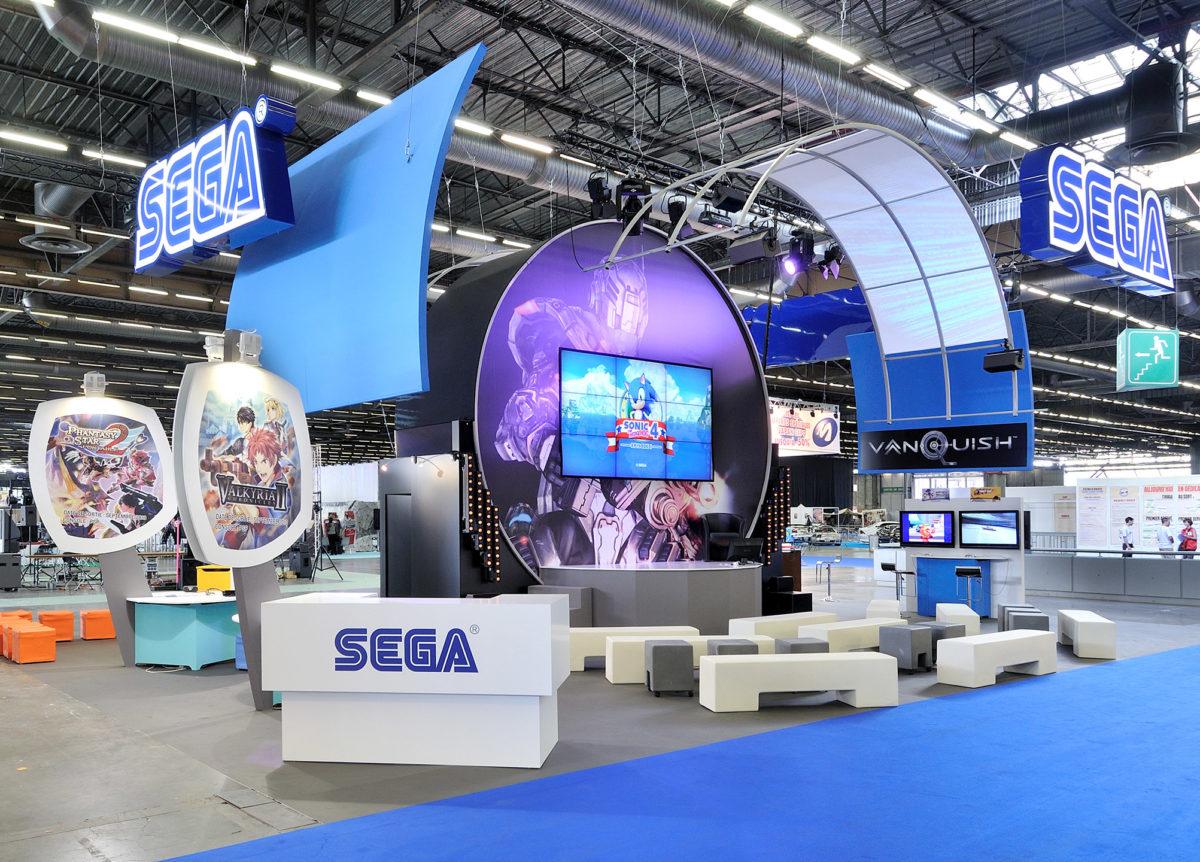 Stand sur mesure Sega Japan 2010