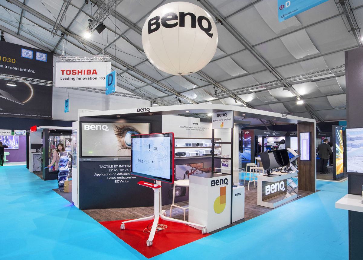 Stand traditionnel Benq It Partners 2018